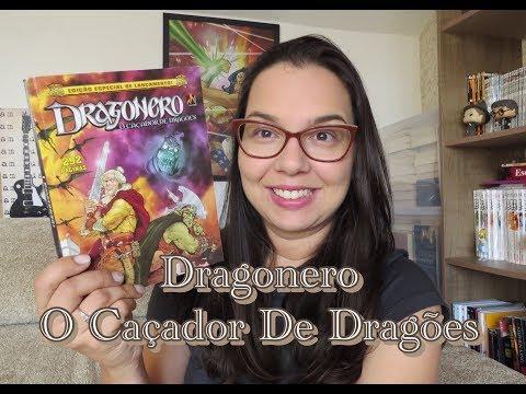 Dragonero  O caçador de Dragões   Editora Mythos   Blog Leitura mania