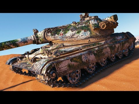 60TP - 152 mm GUN - World of Tanks Gameplay