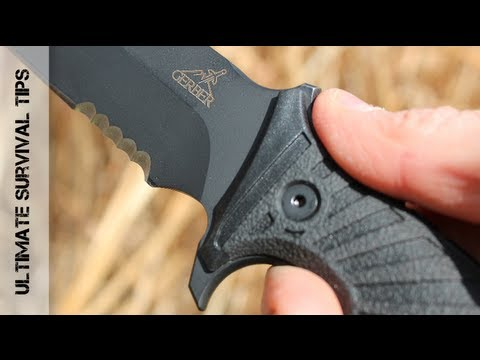 WOW!  Gerber LHR Survival Knife – Review – 30-000183 -Best Survival Knife for Combat?