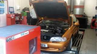 preview picture of video 'Volvo C70 T5 GT rolling road Power Engineering Uxbridge 16/2/13'