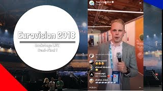 Eurovision's first LIVE social presenter!