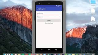 Android Studio Tutorial - NEW Login Register #3 - Server & Database