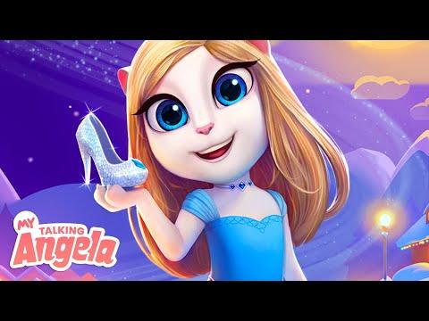 Crystal Princess Dress: NEW My Talking Angela App Update