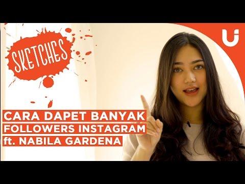 Video Cara Dapet Banyak Followers Instagram (ft. Nabila Gardena)