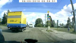 ДТП 09062018 у светофора