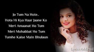 Kabhi Yaadon Mein Aaun Full Song with Lyrics   - YouTube