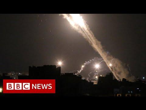 Israel-Gaza: Planes diverted amid rocket threat - BBC News