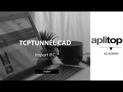 TCPTUNNEL CAD - Import IFC