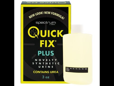 A look inside the New Quick Fix Plus Synthetic Urine