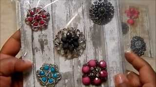 **TRINKET/JEWELRY AND LACE/TRIM LOTS**