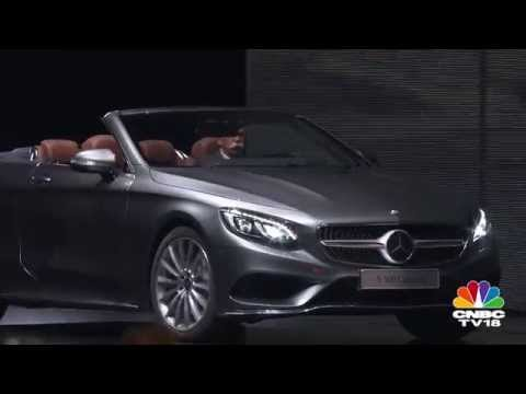 Frankfurt Motor Show 2015: Mercedes-Benz S-Class Cabriolet & C-Class Coupe unveiled
