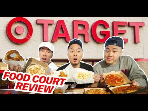 TARGET FOOD COURT REVIEW! (Can It Rival COSTCO?!) // Fung Bros