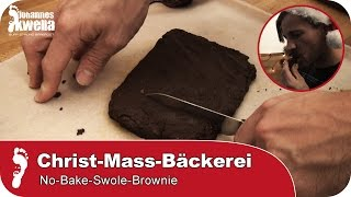 J's Christ-MASS-Bäckerei 2 | No-Bake-Swole-Brownie (ohne Backen, extra Protein)