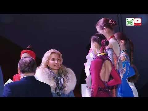 Junior Ladies Victory Ceremony - Rus Jr Nats 2019