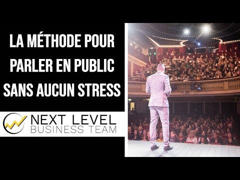 Comment parler en public sans stress