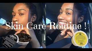 Skin Care Routine | AFRICAN BLACK SOAP AND SHEA BUTTER | Cajunkurls