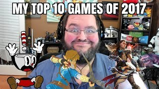 TOP 10 BEST VIDEO GAMES OF 2017! SWITCH, XBOX ONE, PS4, PC