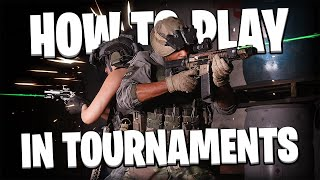 How To Play In Modern Warfare Tournaments! (WIN MONEY)