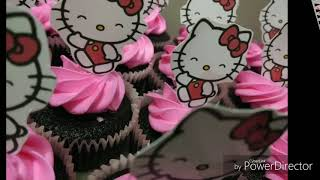 Hello Kitty Cake And Cupcake Collection #1