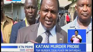 GSU officer arrested over Katani murder that left two dead in Machakos