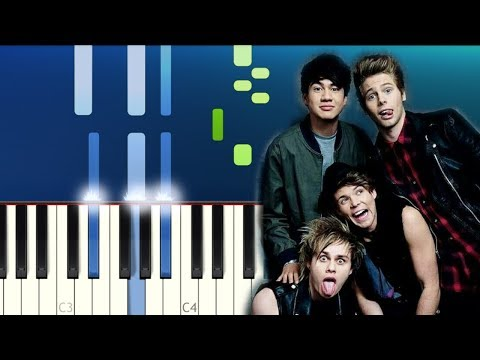 The Chainsmokers & 5 Seconds Of Summer - Who Do You Love (Piano Tutorial - Piano Hits! [Pandapiano]