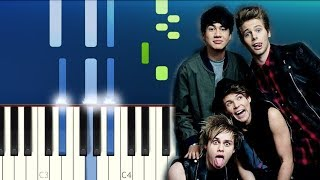 The Chainsmokers & 5 Seconds of Summer - Who Do You Love (Piano Tutorial