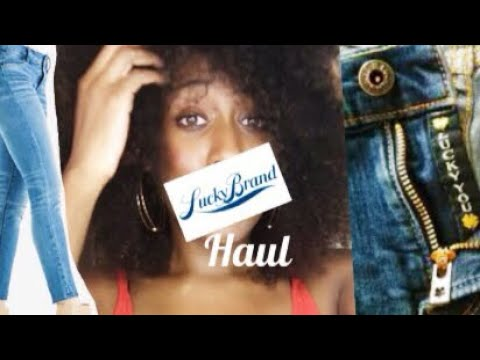 Lucky Brand Jeans Haul 2018 | Denim pants review | Diamond Janae