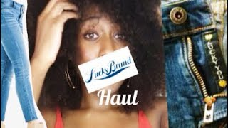 Lucky Brand Jeans Haul 2018 | Denim pants review | Diamond Janae