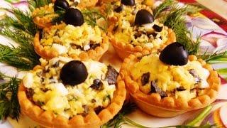 Тарталетки с Сыром и Маслинами, Начинка для Тарталеток
