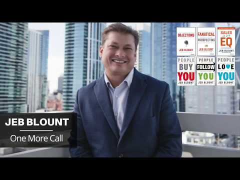 Fanatical Prospecting - One More Call