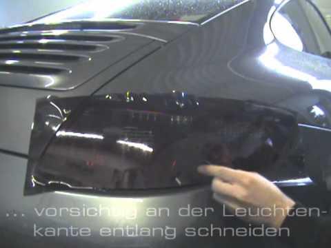 Tönungsfolie für Rückleuchten & Scheinwerfer Leuchtenfolie.de   ILS 10% BLACK