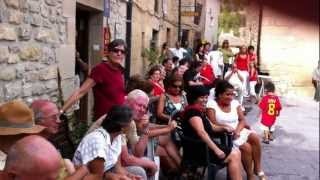 preview picture of video 'Camino 2011 Fiesta in Torres del Rio'