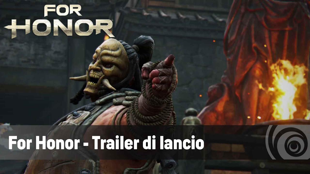 For Honor - Trailer di lancio