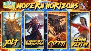 The EDH Lounge - Modern Horizons - The First Sliver vs Sisay vs Urza vs Ayula