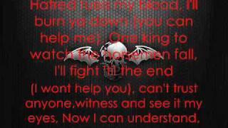 Avenged Sevenfold - Burn It Down [Lyrics]