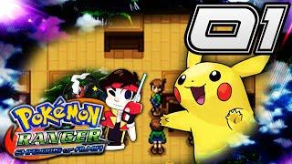 """Pokémon Ranger Shadows of Almia - Episode 1 """"Idiot Teachers!"""""""