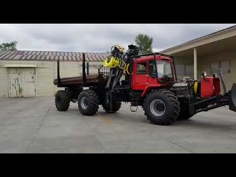 """Лесопромышленный трактор ХТА-220-01 """"Слобожанец"""""""
