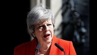 Tearful Theresa May resigns - VIDEO