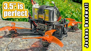 """3.5"""" is the best sub-250g FPV freestyle platform   GEPRC Smart35"""