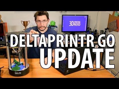 Deltaprintr Go 3D Printer Review Update