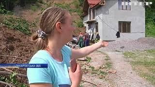 Зсув ґрунту на Закарпатті: в поліції відкрили кримінальне провадження