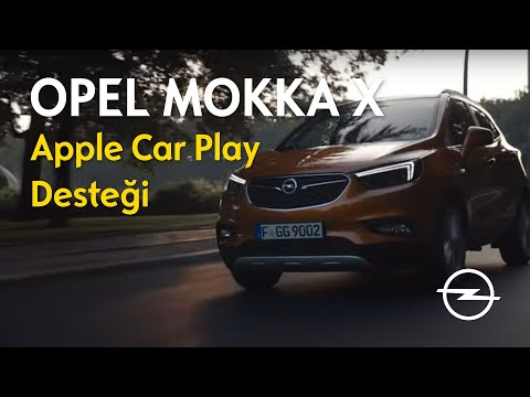 OPEL MOKKA X - APPLE CAR PLAY DESTEĞİ