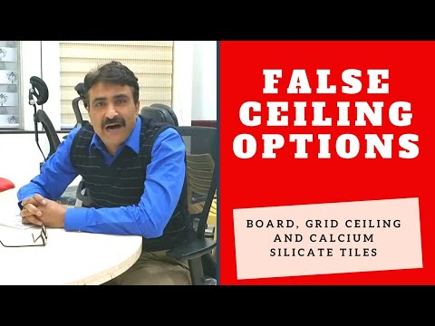Why False Ceiling Uses and few options Hindi
