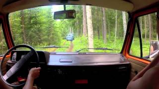 preview picture of video 'Finland Offroad Tour 2012, Hämeenlinna 30 7'