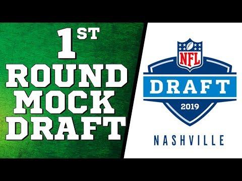 1st Round NFL Mock Draft