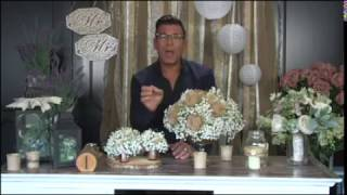 David Tutera Weddings: Tips For Designing Your Sweetheart Table