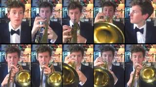 Paul McCartney & Wings - Live and Let Die for Brass Ensemble with sheet music