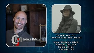 New Visions High School For The Humanities Testimonial On Carlos J. Malave --Part 2