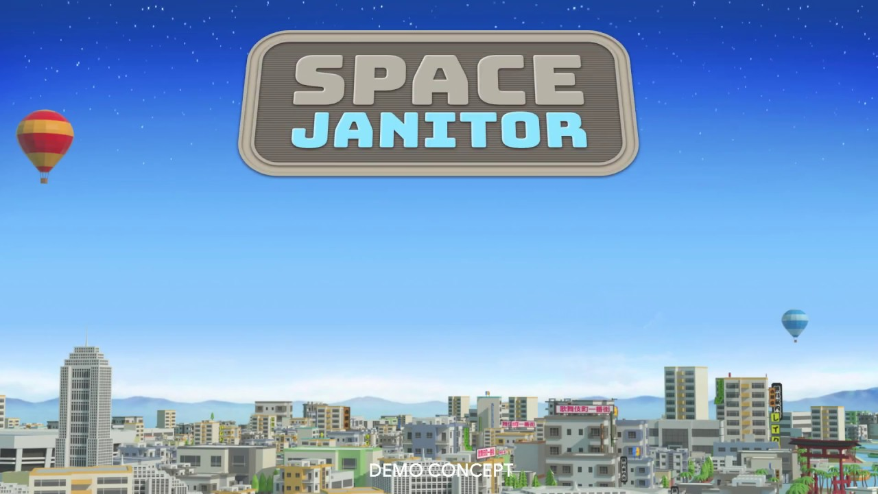 Video of Space Janitor