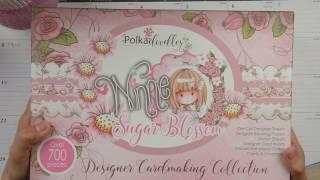 Polkadoodles Winnie Sugar Blossom Designer Card Making Kit